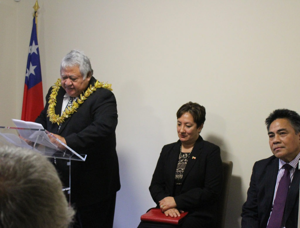 Samoa Prime Minister officially open new Embassy in Brussels